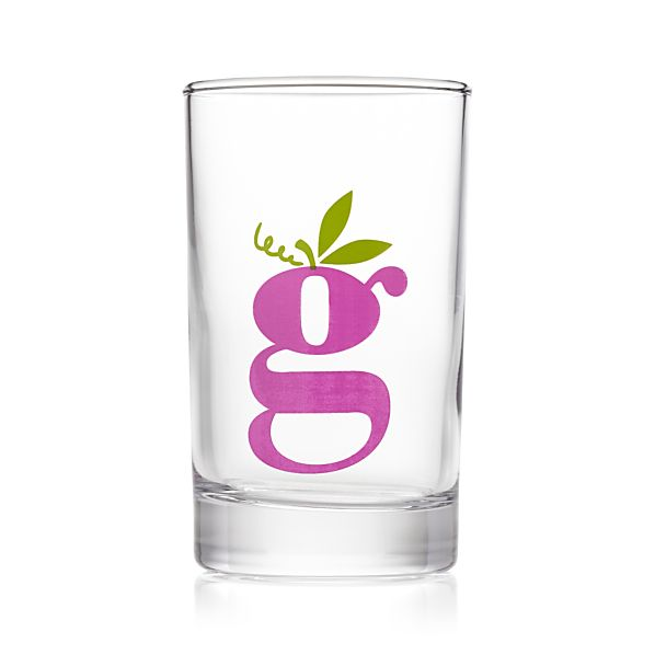 Squeeze Grape Juice Glass