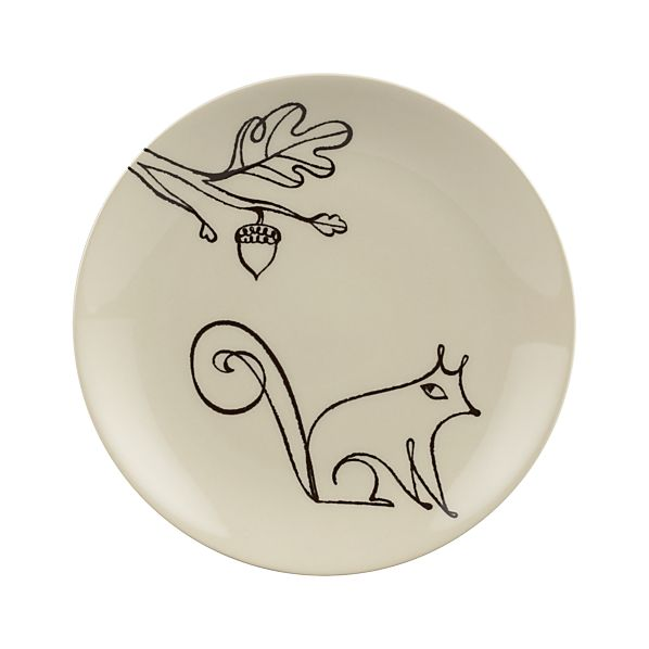 "Squirrel 8.5"" Plate"