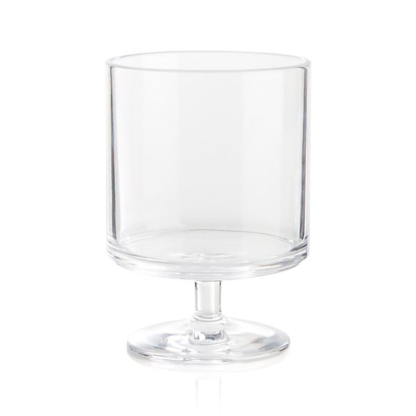 Stacking Acrylic Clear Wine Glass