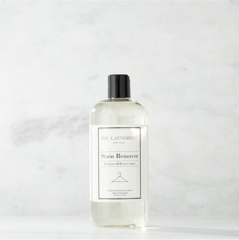 Take a new view of laundry day with our exclusive cleaning solutions from the experts at The Laundress®. Formulated just for Clean Slate™, this ultra-gentle, eco-friendly stain remover is subtly infused with the scent of lavender. Formulated to naturally remove tough stains both old and new, from red wine to body oils, this effective remover is safe for all fabrics (pre-treat for best results). The plant-based formula is 100% biodegradable, non-toxic and free of allergens, artificial colors or dyes, making it a kind choice for both the environment and sensitive skin.<br /><br />The Laundress® was dreamt up by two graduates from Cornell University's Fiber Science, Textile and Apparel Management and Design program. Frustrated with the financial and environmental cost of dry cleaning, the pair researched and developed eco-conscious formulas designed to properly care for every item in your closet.<br /><br /><NEWTAG/><ul><li>Formulated exclusively for Clean Slate™ by The Laundress®</li><li>Highly-concentrated stain remover is safe for all fabrics (pre-treat for best results)</li><li>Plant-based formula is 100% biodegradable, non-toxic and allergen-free with no artificial colors or dyes</li><li>Subtly scented with lavender</li><li>Plastic container is BPA-free</li><li>Made in USA</li></ul>