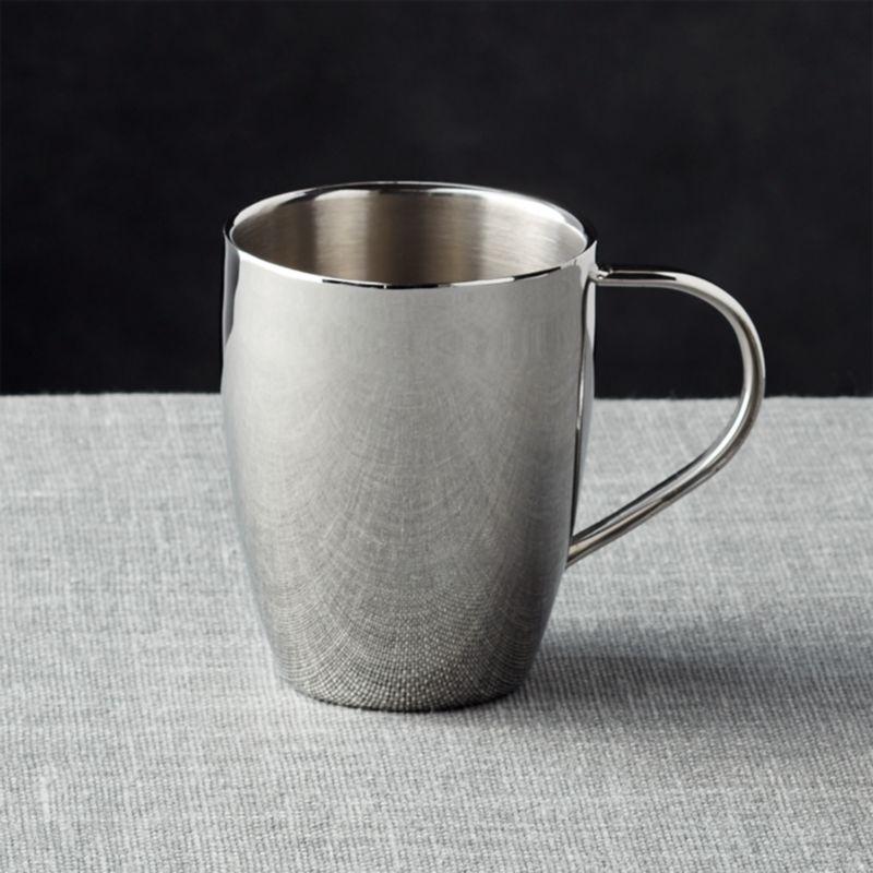 Stainless Double Wall Mug 14oz