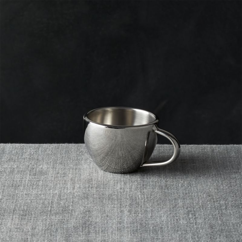 Stainless-Steel 4oz. Espresso Cup