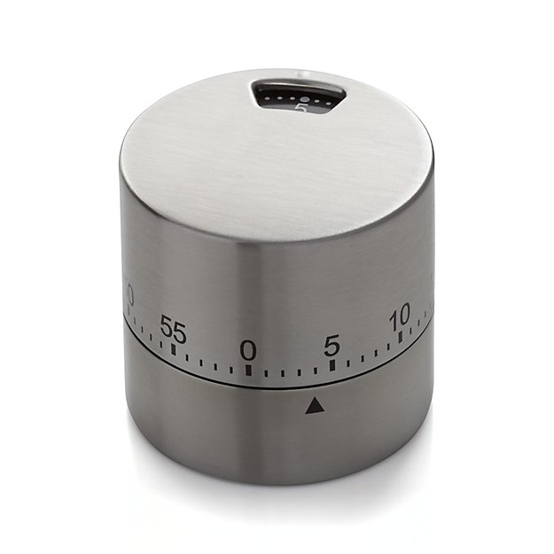 Stainless Twist Timer