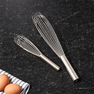 Metal Handled Whisks