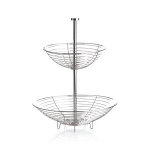 Stainless Wire 2-Tier Basket