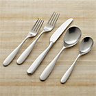 Stanton Satin 5-Piece Flatware Place Setting.