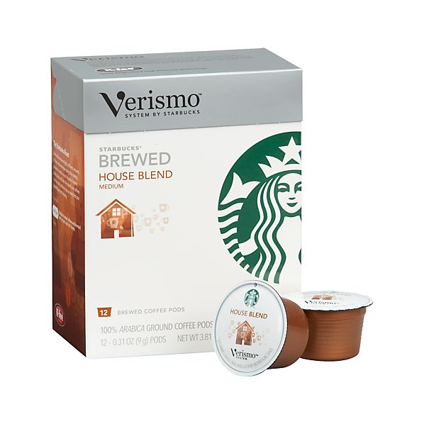 Starbucks ® Verismo ® House Blend Coffee Pods