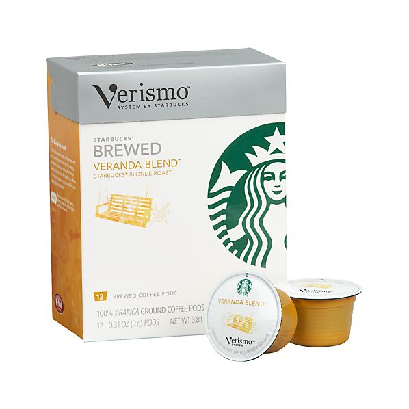 Starbucks ® Verismo ® Veranda Blend ™ Coffee Pods