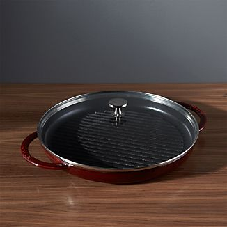 Staub ® Cast Iron Round Steam Grill - Grenadine