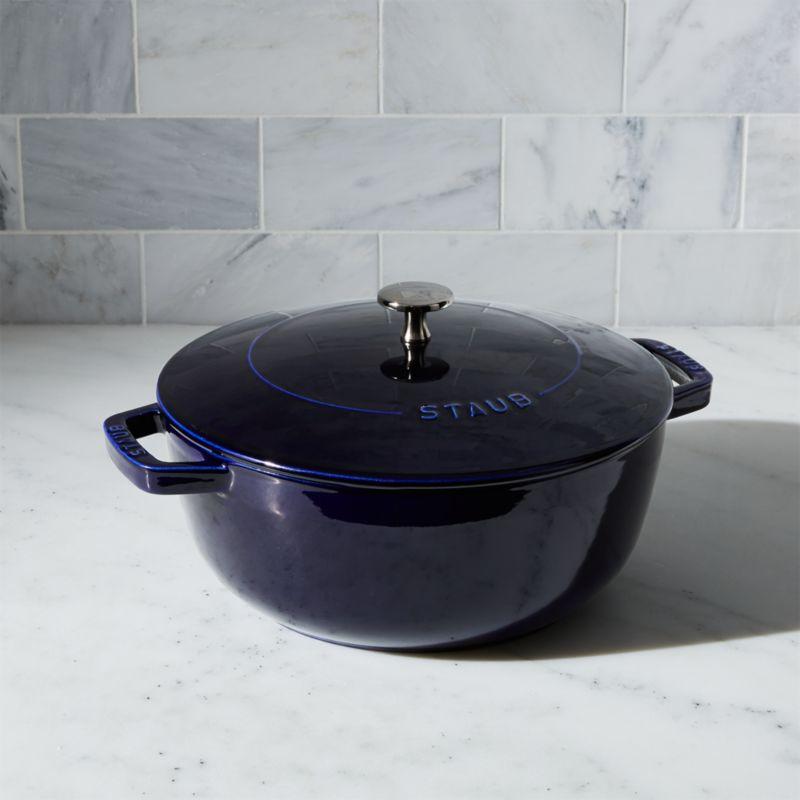 Staub ® 3.75-Qt. Dark Blue Essential French Oven