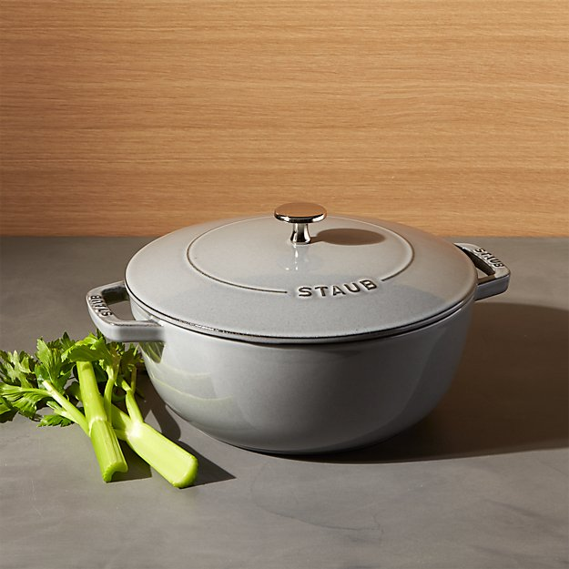 Staub ® 3.75-Qt. Graphite Grey Essential French Oven