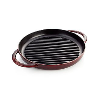 Staub ® Grenadine Red Round Pure Grill