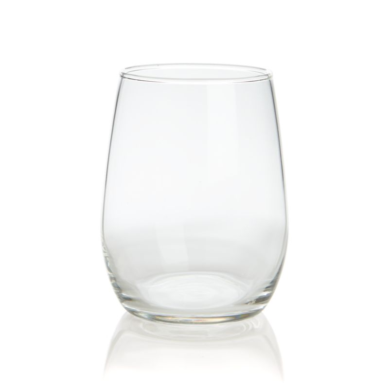 Stemless glasses provide the perfect handhold to look, swirl, smell and taste fine wine of all kinds. Versatile shape at a great value makes this the perfect glass for parties and wine tastings.<br /><br /><NEWTAG/><ul><li>Glass</li><li>Dishwasher-safe</li><li>Made in USA</li></ul>