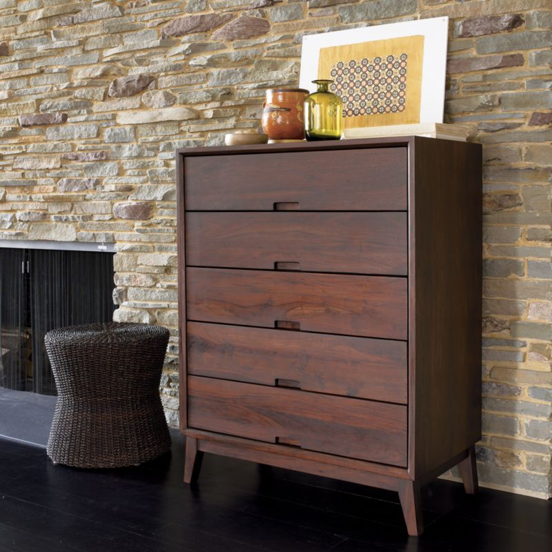 Steppe Five-Drawer Chest