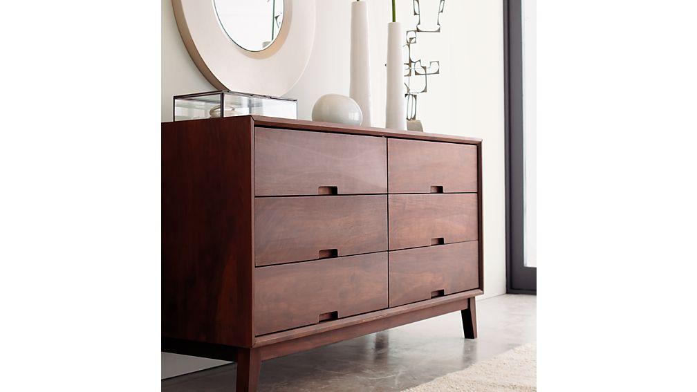 Steppe 6-Drawer Dresser
