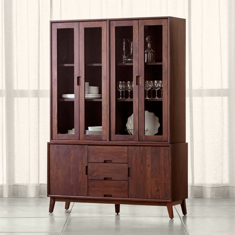 Steppe Buffet With Hutch Crate And Barrel