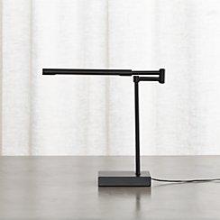 Sterling Black Desk Lamp