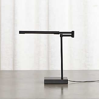 Sterling Black Desk Lamp