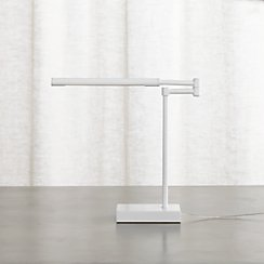 Sterling White Desk Lamp
