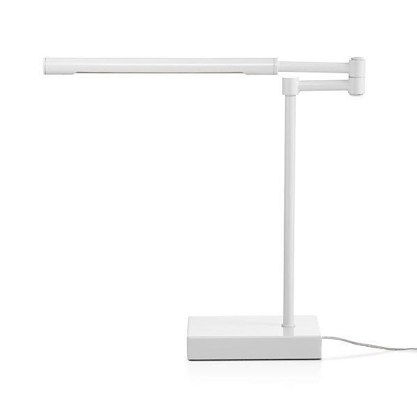 SterlingWhiteDeskLampS16