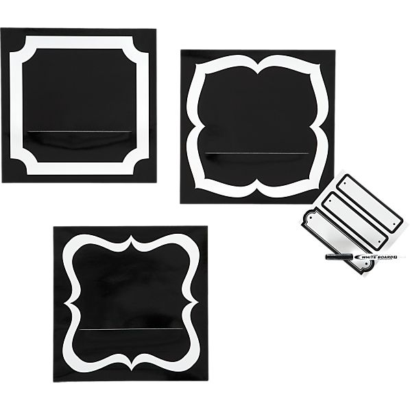 Set of 3 Sticker Pockets