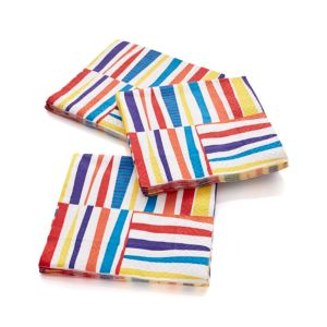 Set of 20 Stix Beverage Napkins