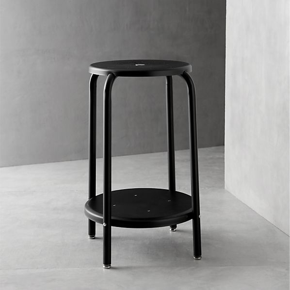 "Cramer ® Black 24"" Stool"