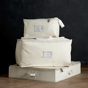 Twill Storage Bags with Ticking - Twill...