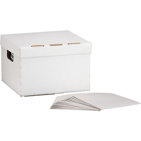 Large Dinnerware Storage Box