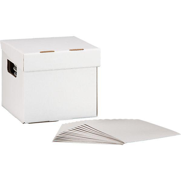 Small Dinnerware Storage Box