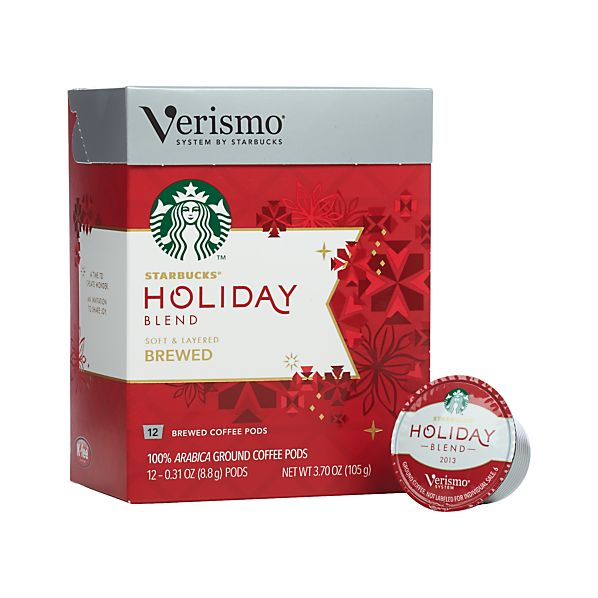 Starbucks ® Verismo ® Holiday Coffee Pods