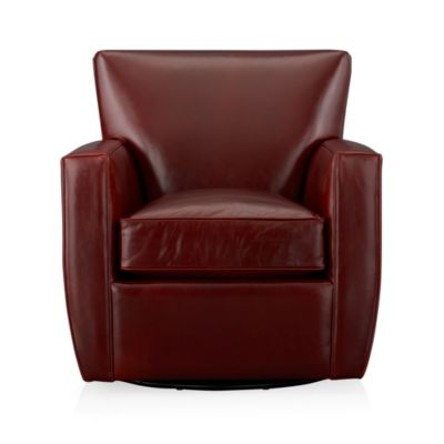 Streeter 360 Leather Swivel Chair