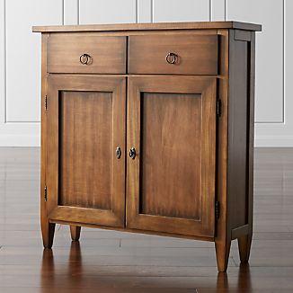 Stretto Nero Noce Cabinet