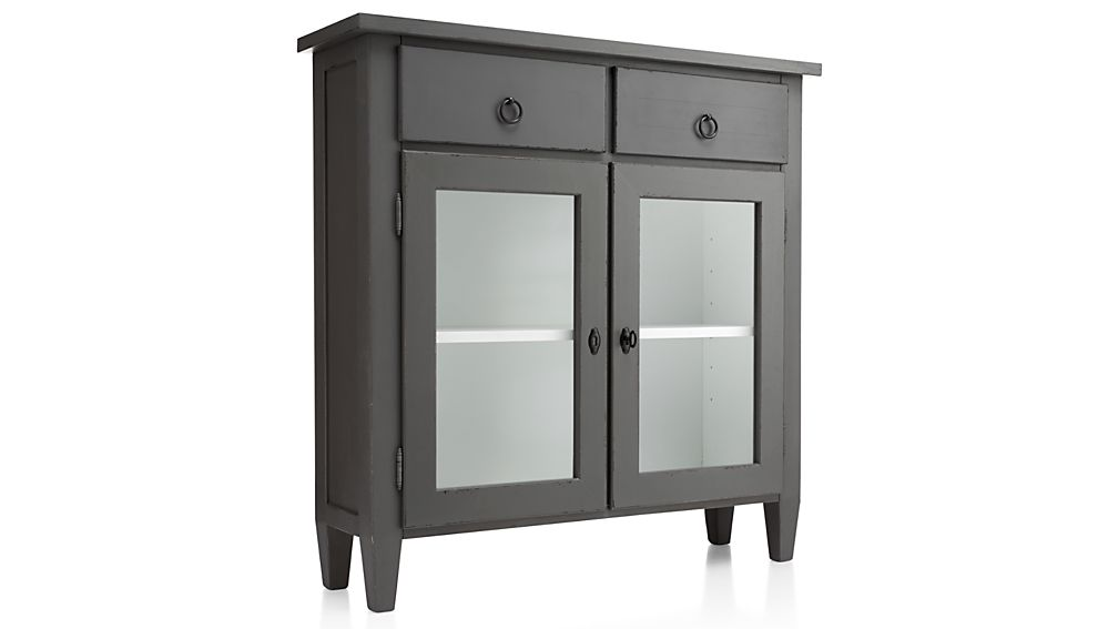 Stretto Varentone Entryway Cabinet Crate And Barrel