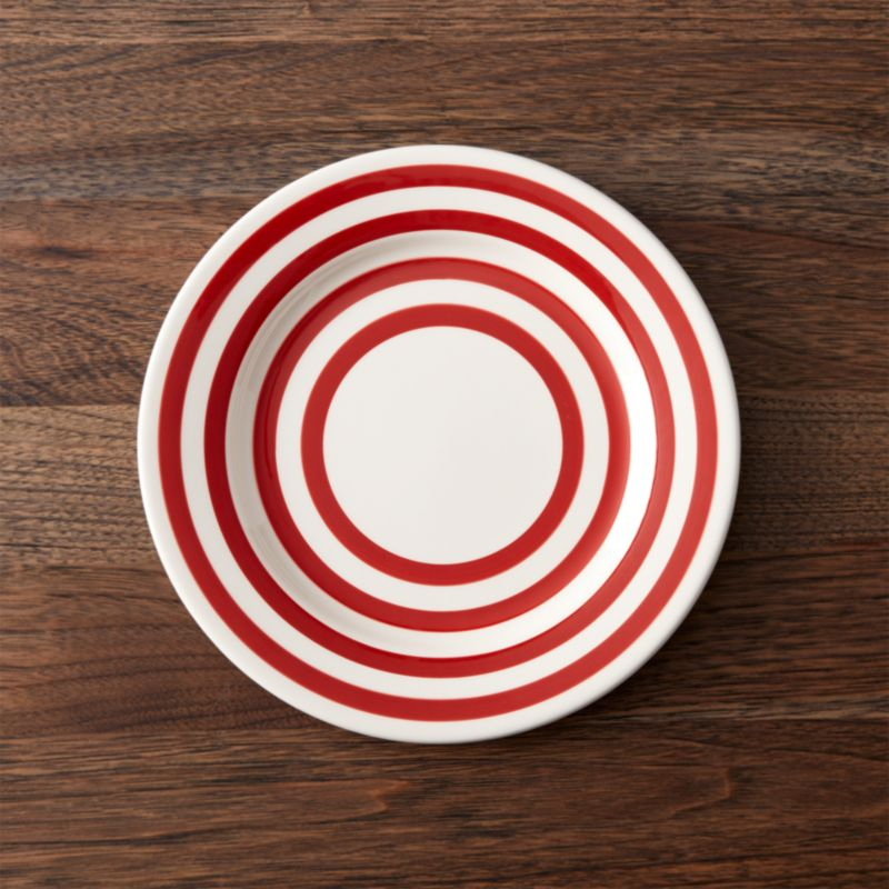 Red-Striped Plate