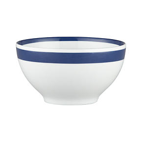 Navy Stripe 6 Bowl