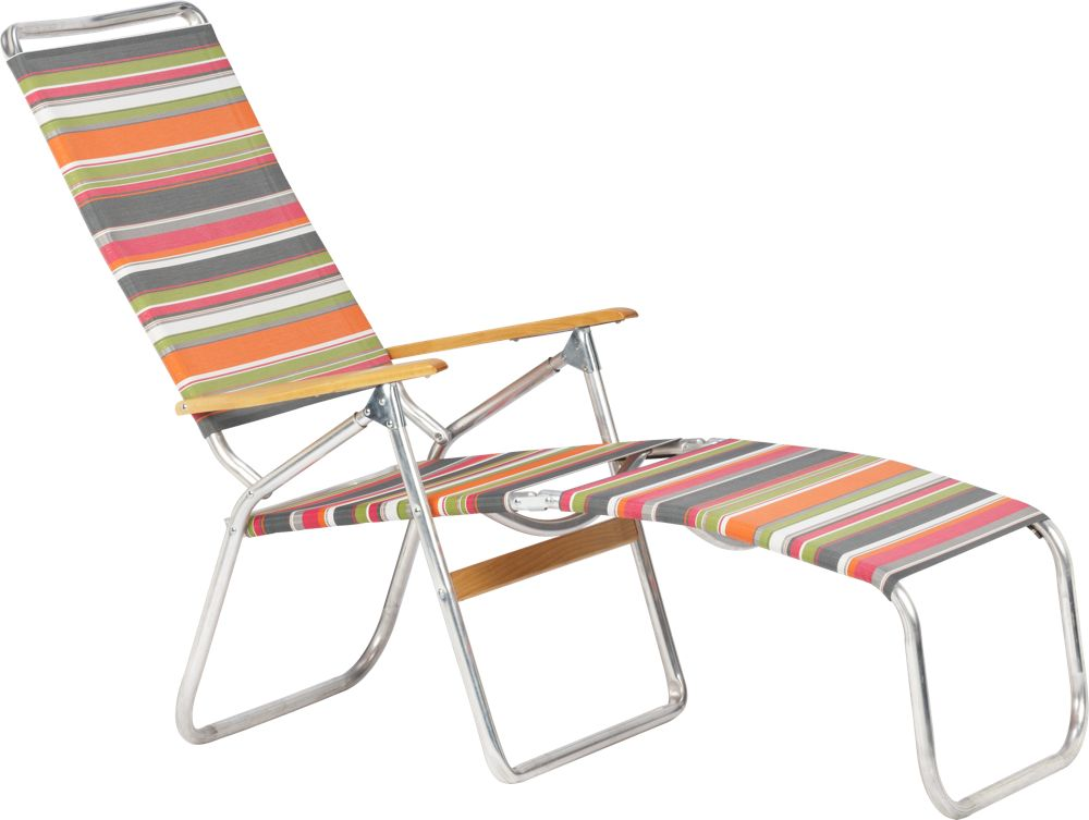 Furniture Outdoor Furniture Lounger Stripe Outdoor Lounger