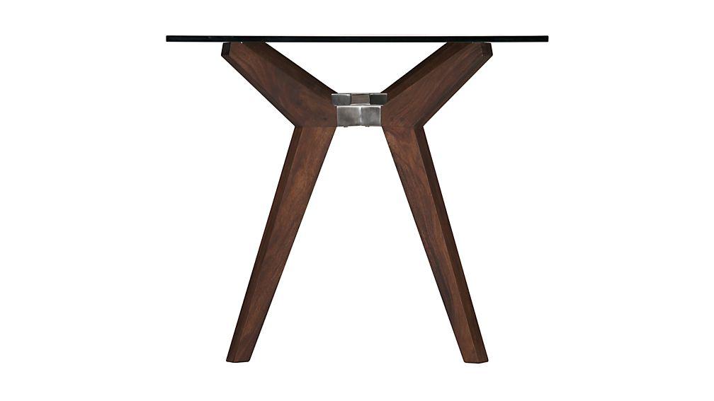 "Strut Shesham 70"" Work Table"