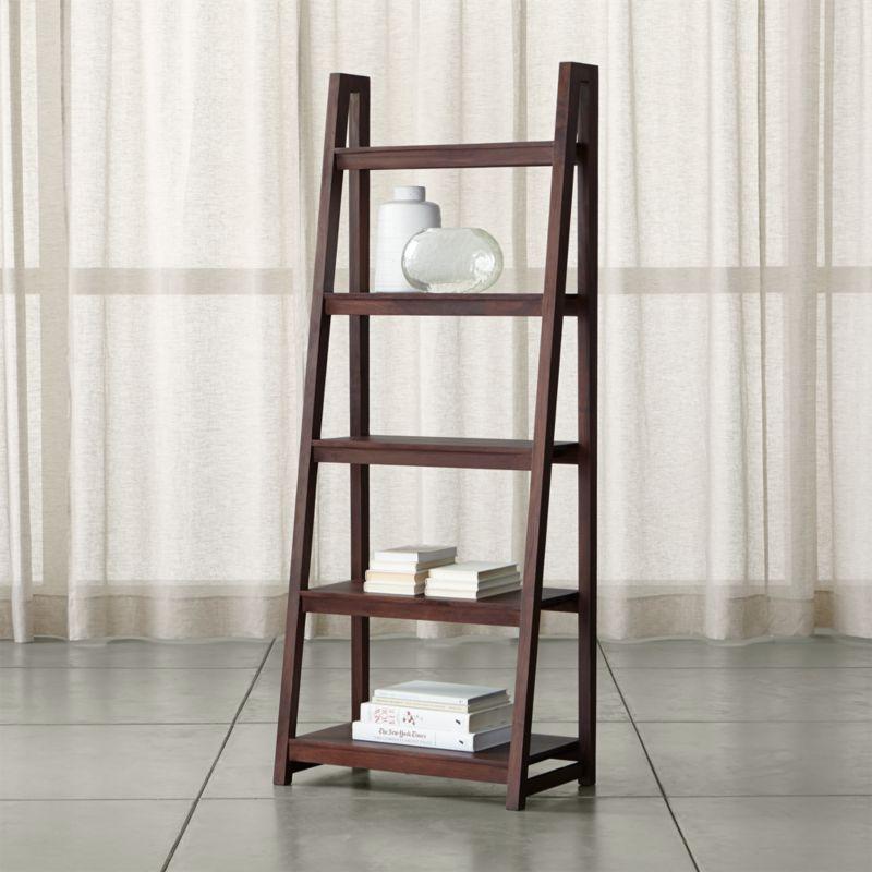 Strut Sheesham Wood Bookcase