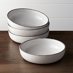 Set of 4 Studio Dark Clay Bowls