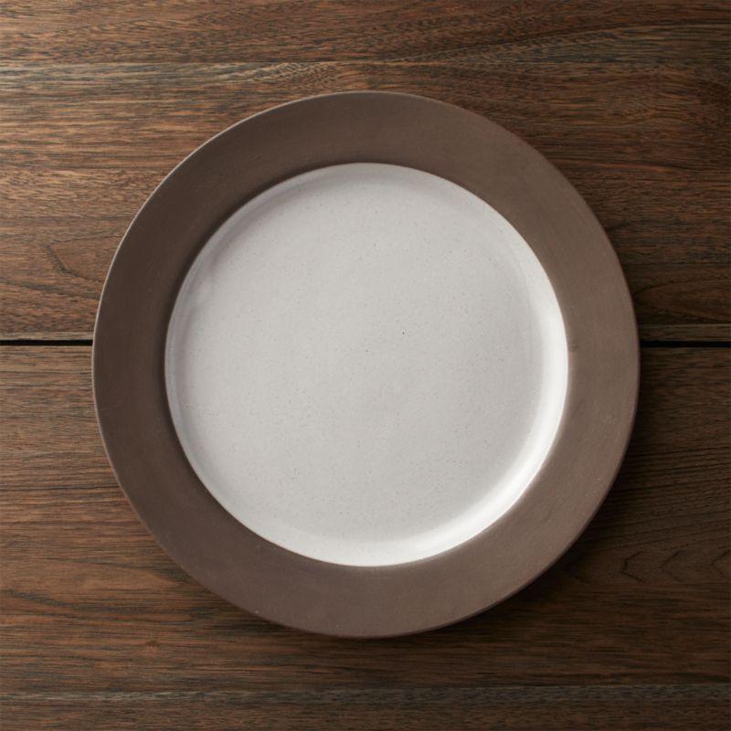 Studio Dark Clay Dinner Plate