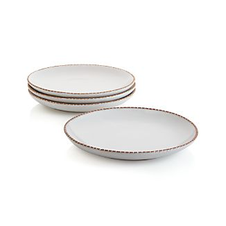 Set of 4 Studio Light Clay Dinner Plates