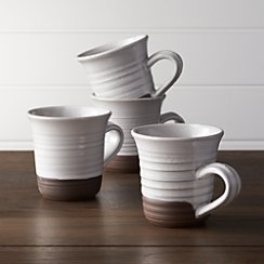 Set of 4 Studio Large Mugs
