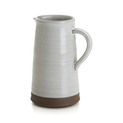 Studio Dark Clay Pitcher