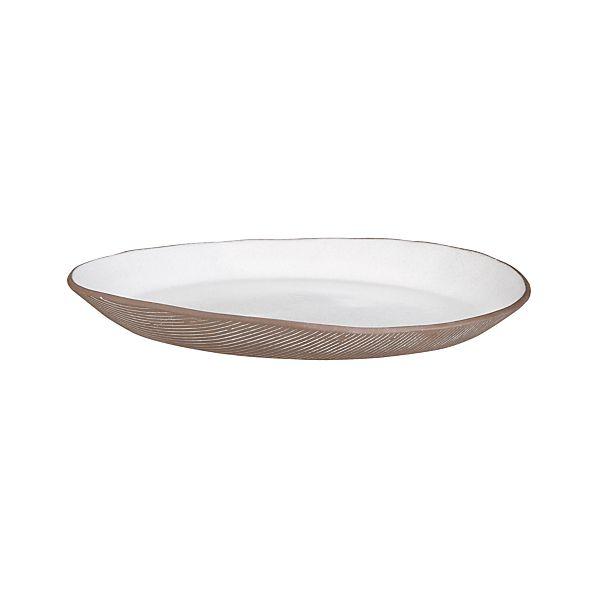 Studio Dark Clay Platter