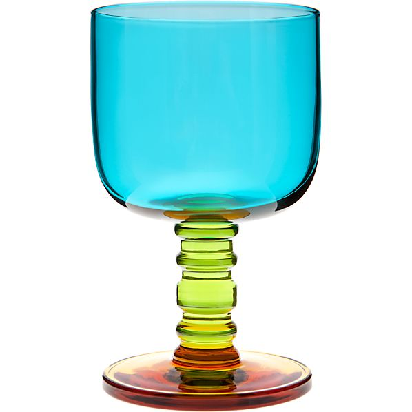 Marimekko Sukat Makkaralla Turquoise Goblet