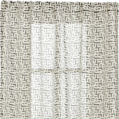 Sumba Indigo Sheer 48x96 Curtain Panel