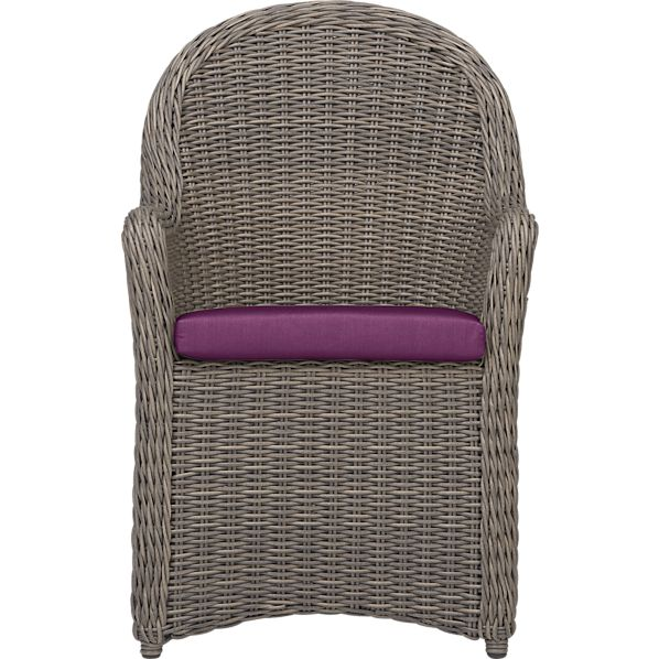 Summerlin Arm Chair with Sunbrella ® Phlox Cushion