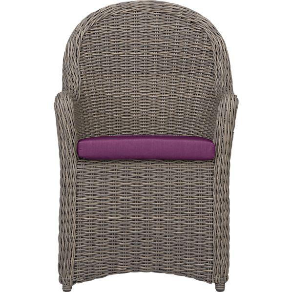 Summerlin Arm Chair with Sunbrella ® Phlox Cushion