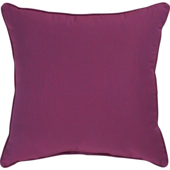 "Sunbrella ® Phlox 20"" Sq. Outdoor Pillow"